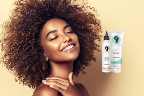 Bounce Curl sulfate free vegan and clean shampoos Ireland and Europe on The Clean Beauty Edit