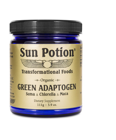 Sun Potion Green Adaptogen available on The Clean Beauty Edit Ireland