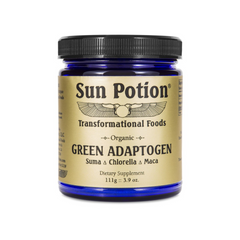 Sun Potion Organic Green Adaptogen Powder on The Clean Beauty Edit