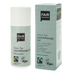 Fair Squared Green Tea Lube and Massage Gel on The Clean Beauty Edit