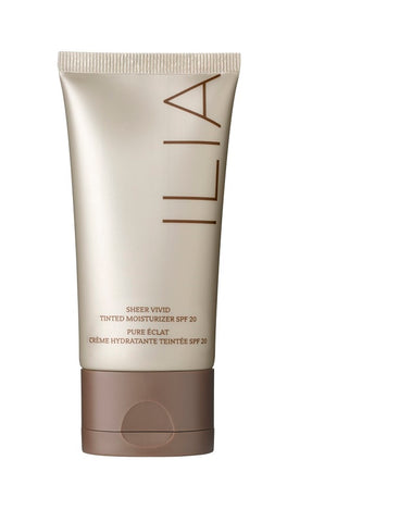 Ilia Beauty Vivid Sheer Tinted Moisturiser with SPF on The Clean Beauty Edit