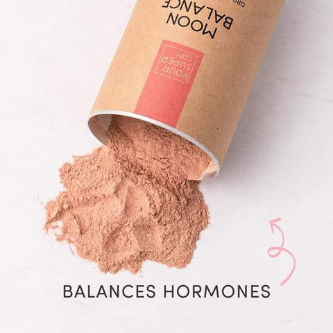 Your Super Moon Balance For Balancing Hormones Naturally on The Clean Beauty Edit