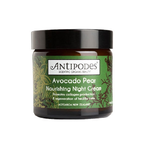 Antipodes Skincare Avocado Pear Night Cream on The Clean Beauty Edit