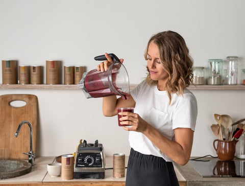 Your Super Kristel de Groot Healthy Smoothie Recipes on The Clean Beauty Edit