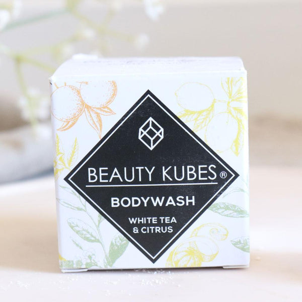 Beauty Kubes Body Wash White Tea & Citrus - The Clean Beauty Edit
