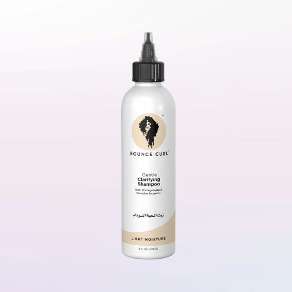 Bounce Curl Gentle Clarifying Shampoo available in Ireland and Europe on The Clean Beauty Edit Curly Girl Method Products Clean Hair Brands