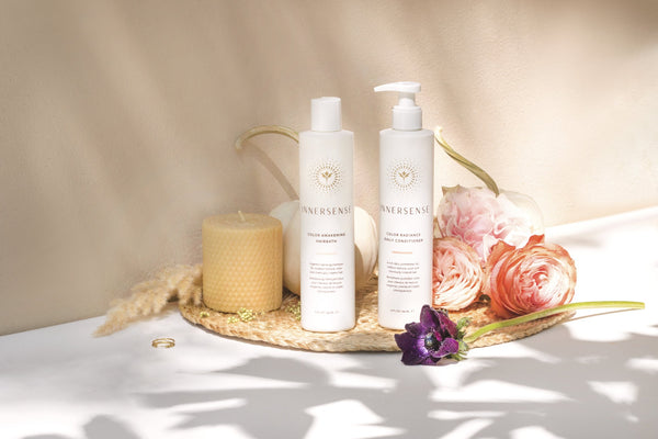 Innersense Organic Beauty Colour Awakening Hairbath and Colour Radiance Conditioner on The Clean Beauty Edit Ireland