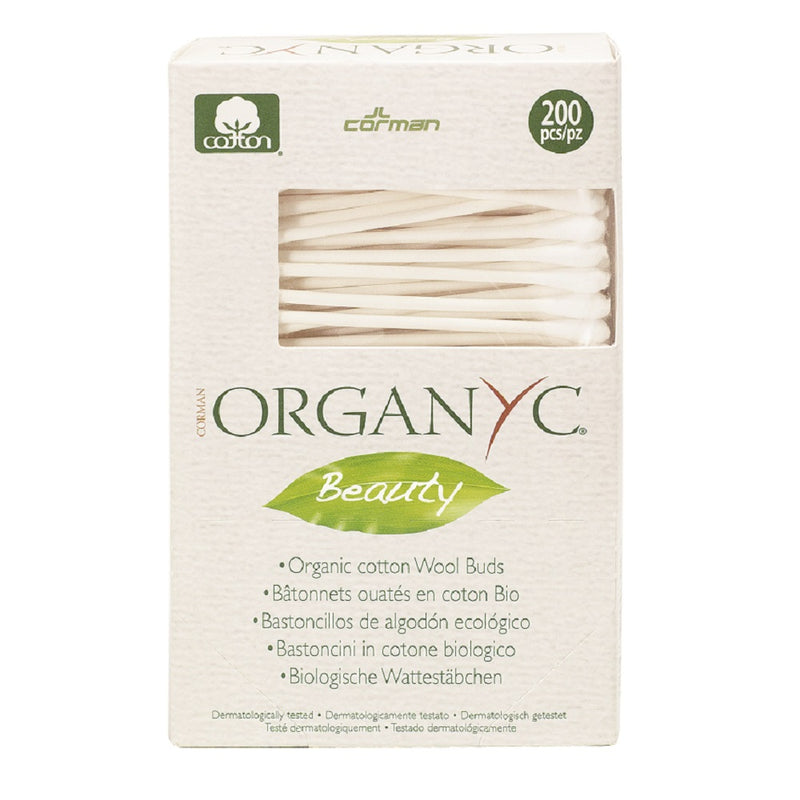 Organic Cotton Swabs - The Clean Beauty Edit