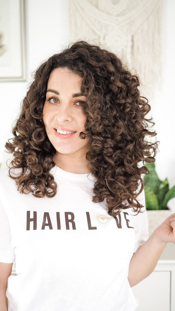 Curl Maven uses Innersense Organic Beauty for Curly Girl Method
