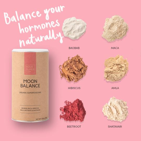 Organic Moon Balance Mix, 200g - The Clean Beauty Edit