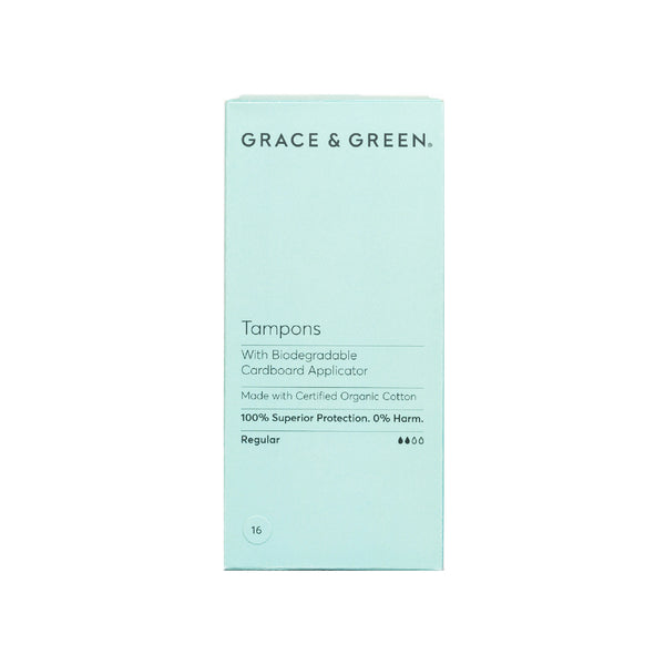 Organic Zero Waste Applicator Tampons, Regular - The Clean Beauty Edit