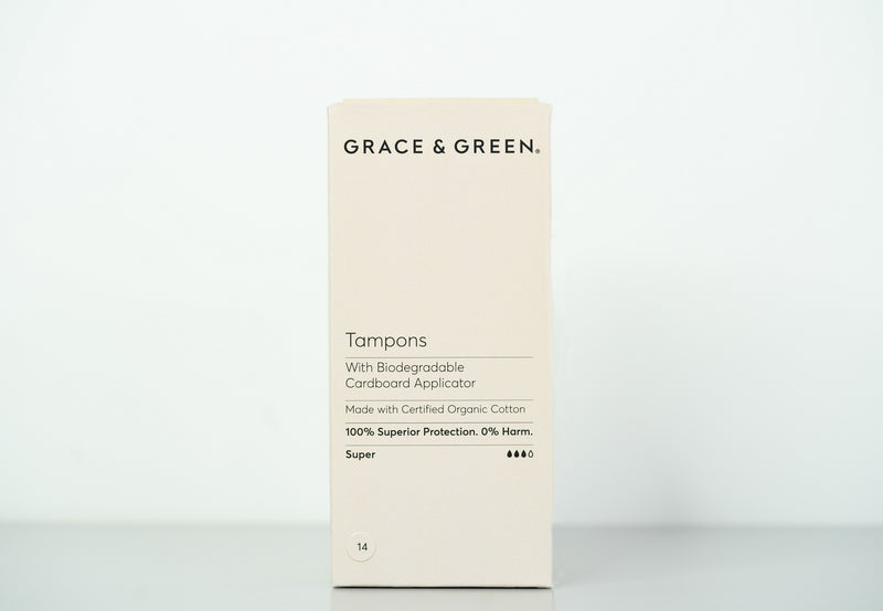Organic Zero Waste Applicator Tampons, Super - The Clean Beauty Edit