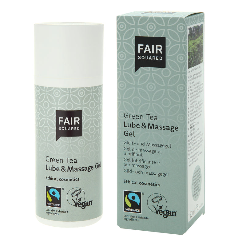 Green Tea Lube & Massage Gel - The Clean Beauty Edit