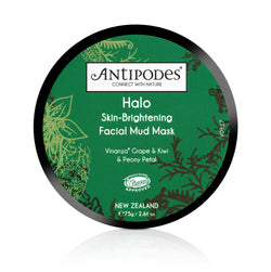 Halo Skin Brightening Facial Mud Mask - The Clean Beauty Edit
