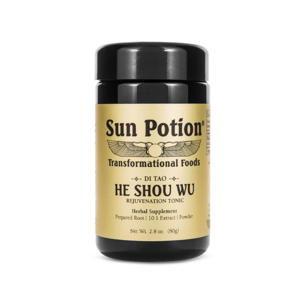 He Shou Wu (Wildcrafted) - The Clean Beauty Edit