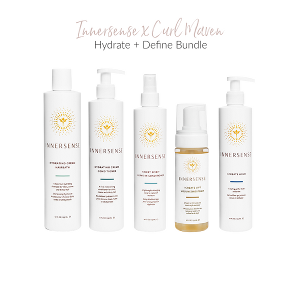 Innersense Organic Beauty x Curl Maven Exclusive Bundles on The Clean Beauty Edit