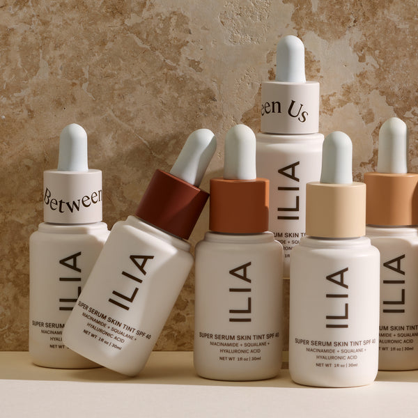 Ilia Beauty Super Serum Skin Tint SPF30 The Best Clean Make Up Brands and Tinted Moisturisers on The Clean Beauty Edit Ireland UK Europe