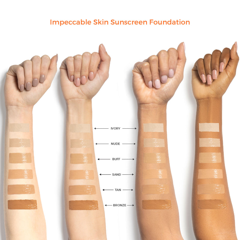 Suntegrity Impeccable Skin Mineral Matte SPF Sunscreen and Mineral Foundation on The Clean Beauty Edit Ireland The Best Mineral Toxin Free Reef Safe Sunscreens