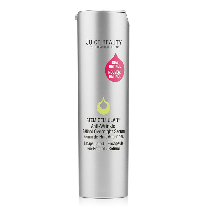 Juice Beauty Stem Cellular Anti Wrinkle Retinol Overnight Serum on The Clean Beauty Edit