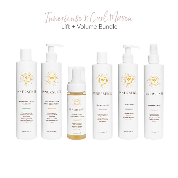 Curl Maven x Innersense Organic Beauty Exclusive Lift And Volume Bundle on The Clean Beauty Edit