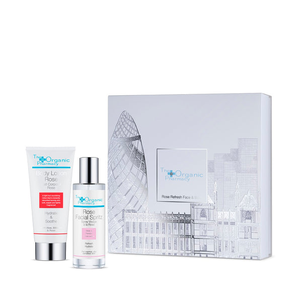 Rose Refresh Face & Body Set - The Clean Beauty Edit