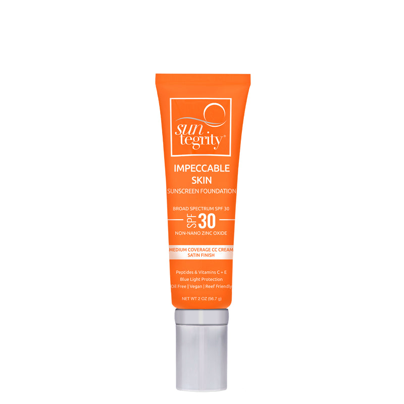 Suntegrity Impeccable Skin Ireland UK Europe on The Clean Beauty Edit Clean Mineral Sunscreen Tinted Moisturiser Clean Non Toxic SPF Coverage Reef Safe Sunscreen