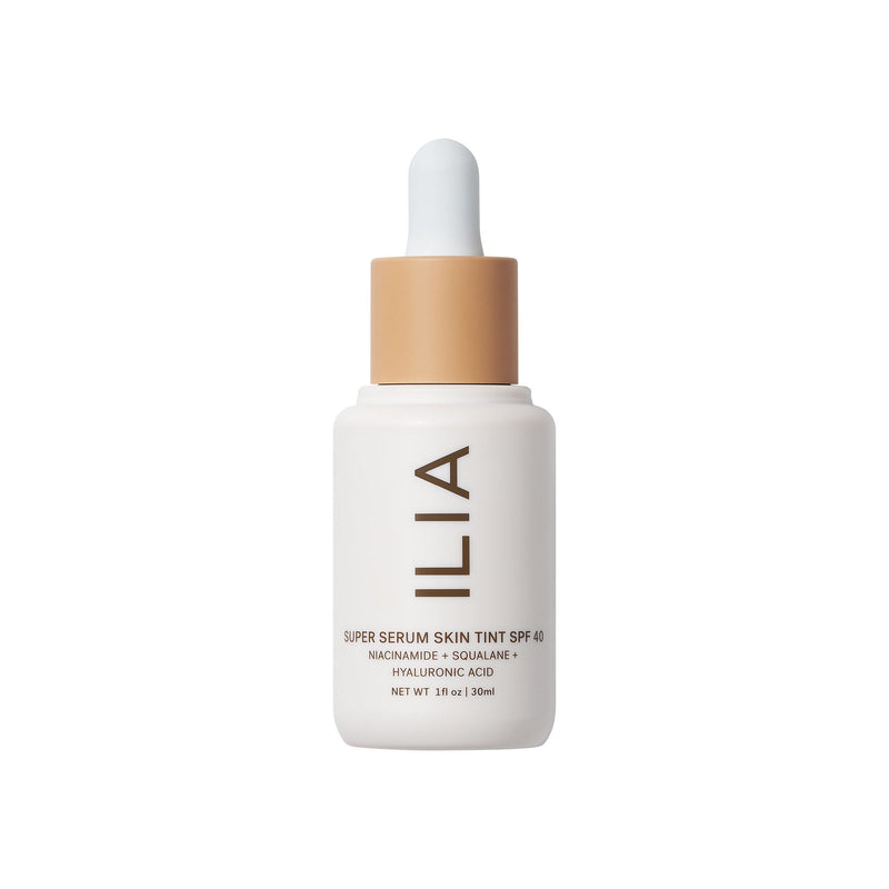 Ilia Beauty Super Serum Skin Tint Ireland UK Europe on The Clean Beauty Edit The Best Clean Make Up Brands