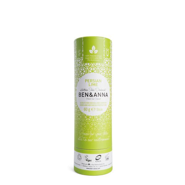 Natural Soda Deodorant - Persian Lime - The Clean Beauty Edit