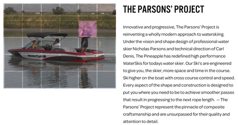 nick parsons project waterskis