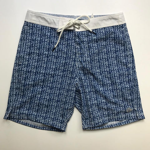 Short kulswimwear blue