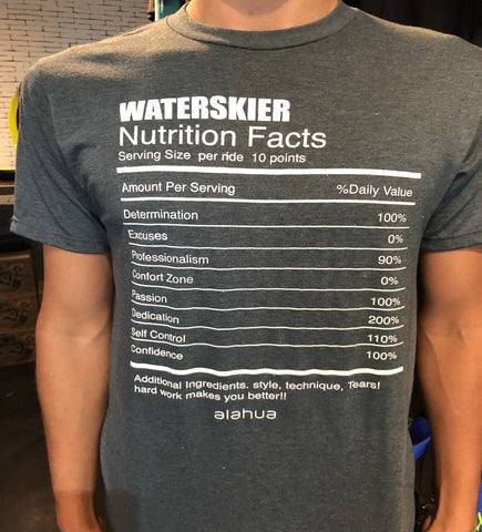 T shirt alahua waterskier
