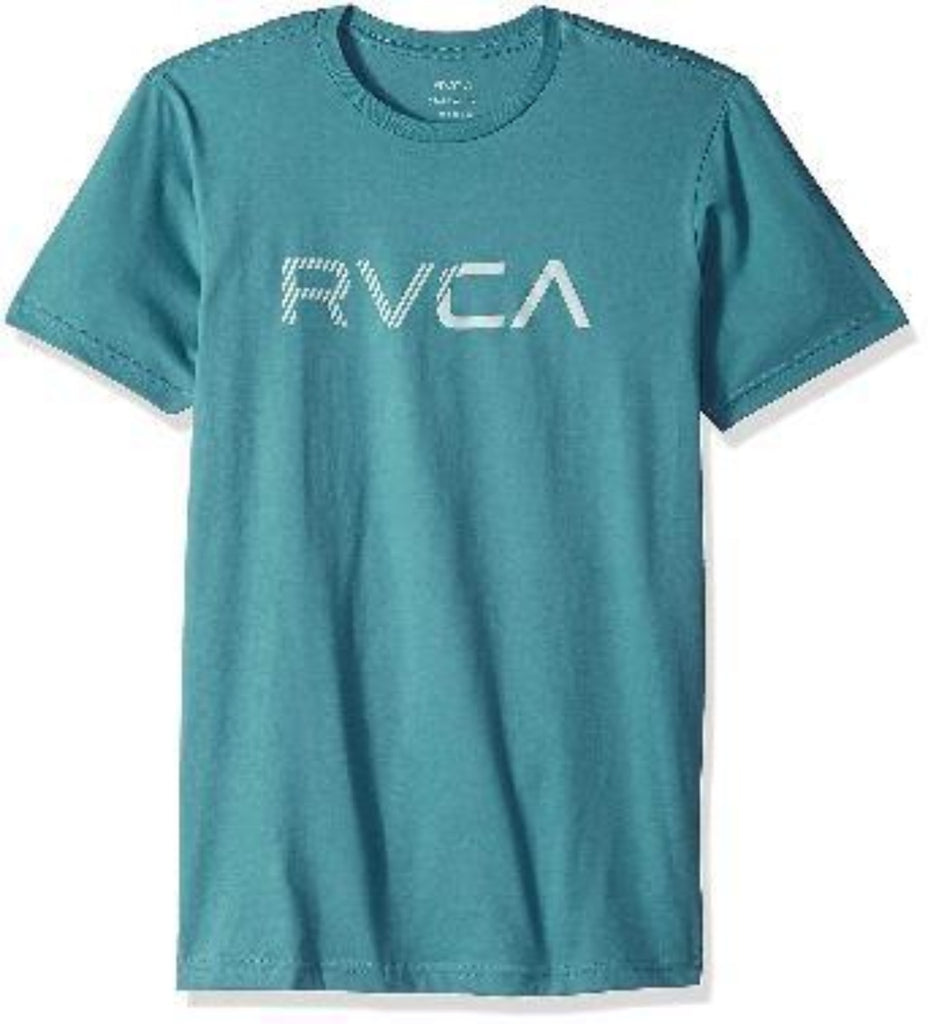 playera RVCA blinded ss blue/lavender