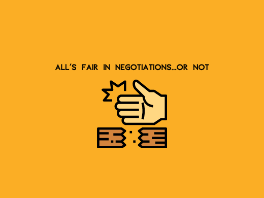 How to Recognize Common Unethical Negotiation Tactics