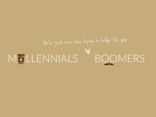 Boomers vs. Millennials – An Opportunity to Blend two Divergent Generations