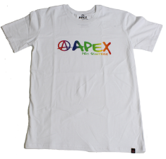 APEX Rainbow T-Shirt - White