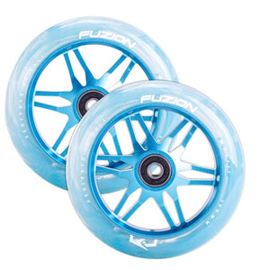 ACE Vapor 120mm Blue/Blue Swirl PU (Pair)