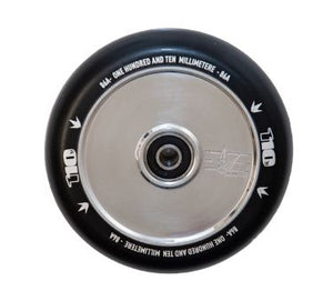Envy 110mm Hollow Core Wheel - Polished/Black