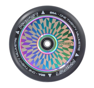 Fasen 120mm Hypno Hollowcore Wheel - Off Set Oil Slick