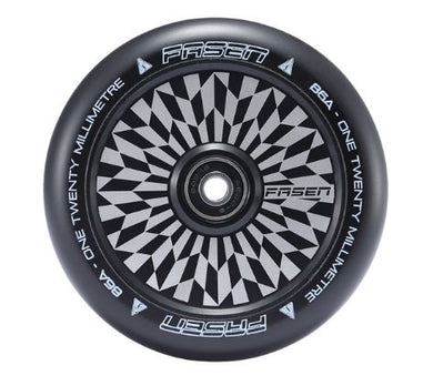 Fasen 120mm Hypno Hollowcore Wheel - Off Set Black