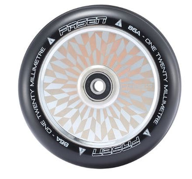 Fasen 120mm Hypno Hollowcore Wheel - Off set Chrome