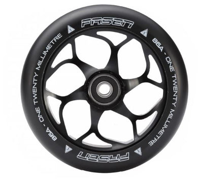 Fasen 120mm Wheel - Black/Black