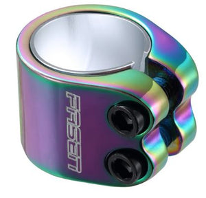 Fasen 2 Bolt Oversize Clamp - Oil Slick