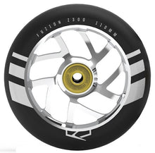 Load image into Gallery viewer, Flight Wheel 110mm Black with Silver Core (Pair)