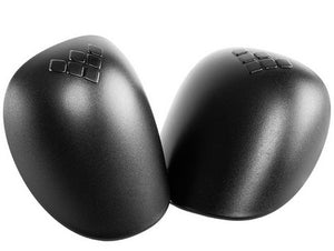 Gain REPLACEMENT PLASTIC CAPS for Hard Shell Knee Pads - BLACK