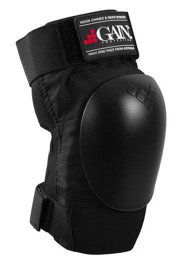 Gain The Shield Hard Shell Knee Pads with Black Caps