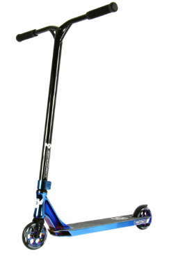 Longway Complete Scooter Precinct - Blue Neochrome/Satin Black