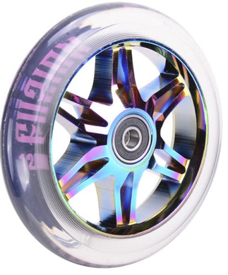 Ace 120mm Neochrome/Clear PU (Pair)