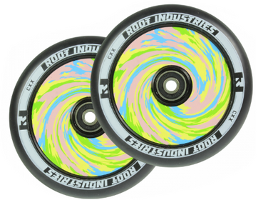 Root Industries Wheels 120mm AIR Wrapped - Black/Paddle Pop