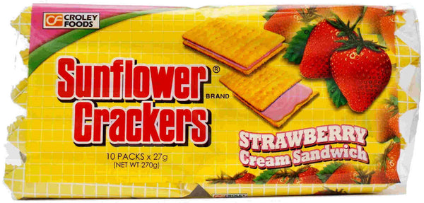 Sunflower Strawberry Cracker