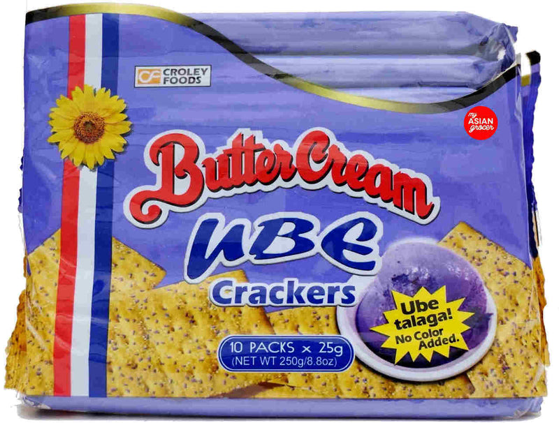 Butter Cream Ube Cracker